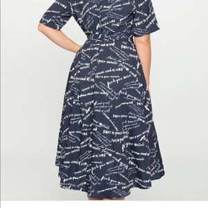 Eloquii Wrap Dress